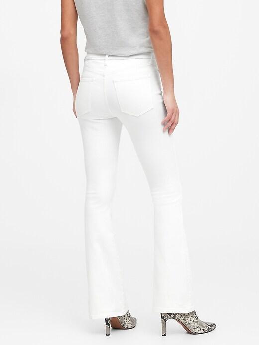 Petite High-Rise Flare Jean