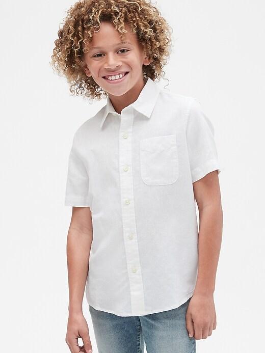 Kids Short Sleeve Shirt