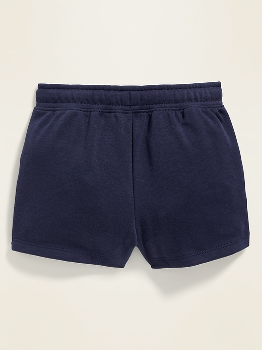 Pull-On French-Terry Shorts for Toddler Girls