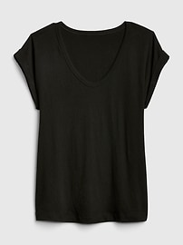 Relaxed Scoopneck T-Shirt