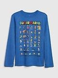 GapKids &#124 Nintendo Mario Graphic T-Shirt GAP