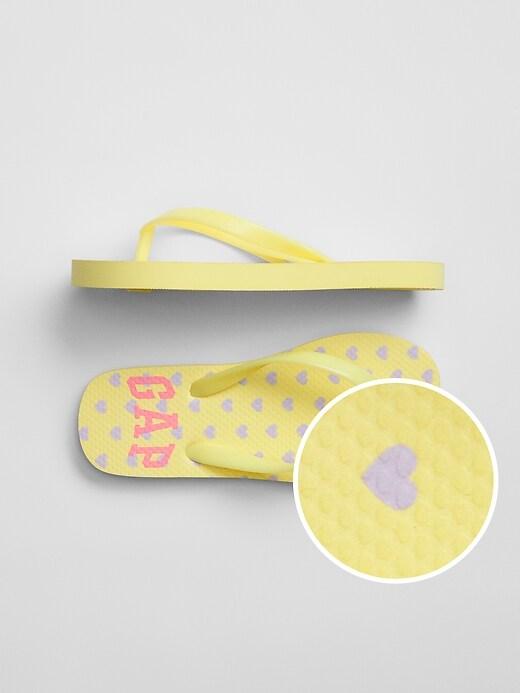 Kids Logo Flip Flops