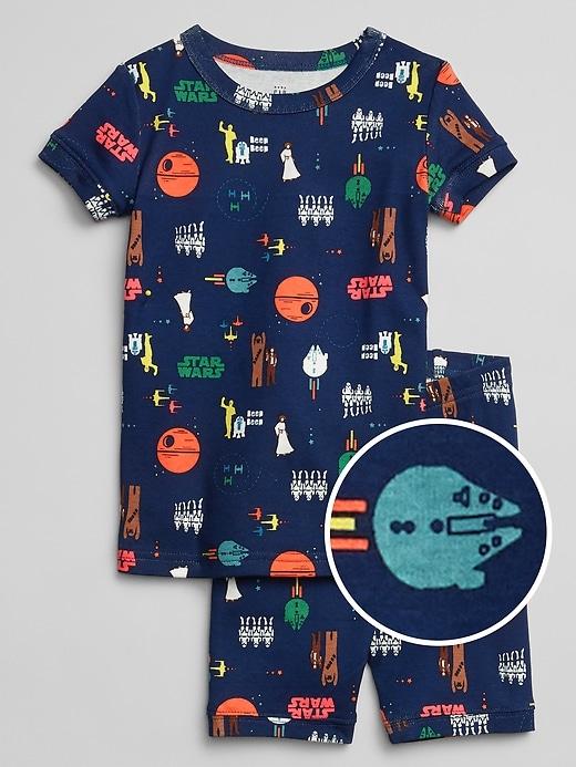 babyGap Print Short PJ Set