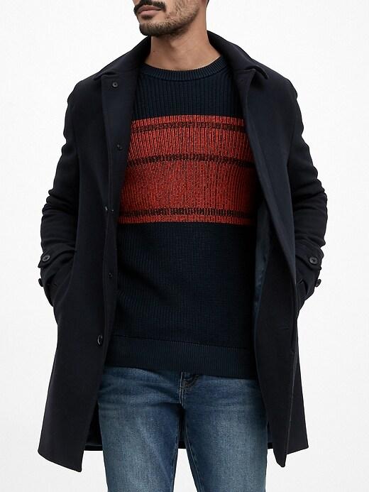 SUPIMA® Cotton Crew-Neck Sweater