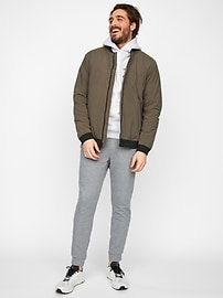 Thermal Light Bomber Jacket