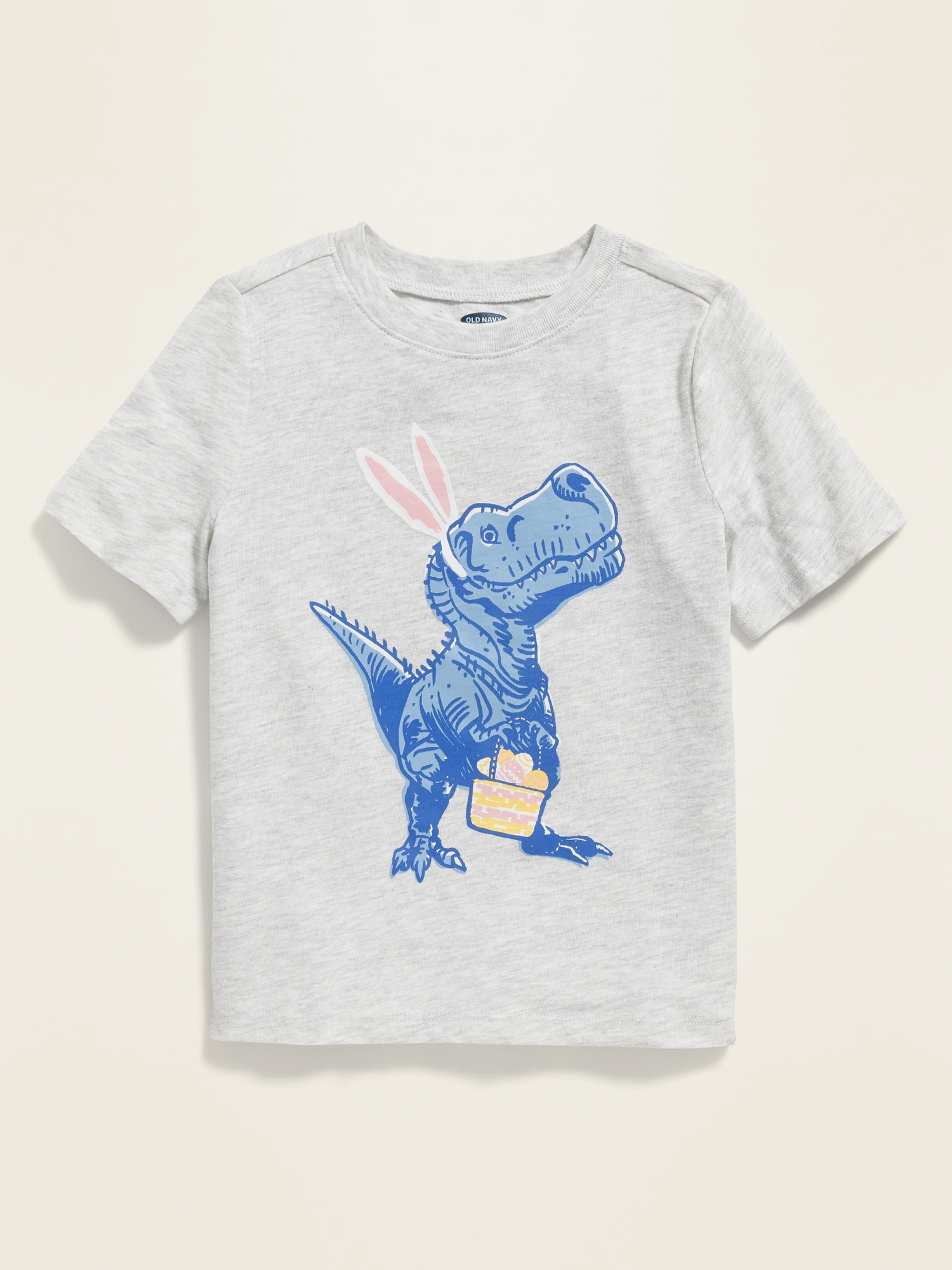 Boys Short Sleeve T-Shirts Crew-Neck I Love Dinosaurs