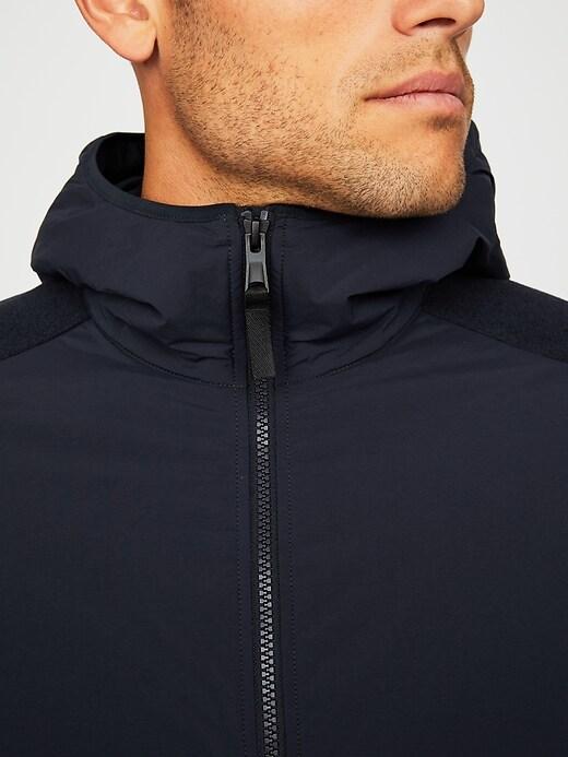 Thermal Light Hooded Fleece Jacket