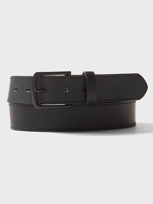 Black On Black Fashion Belt