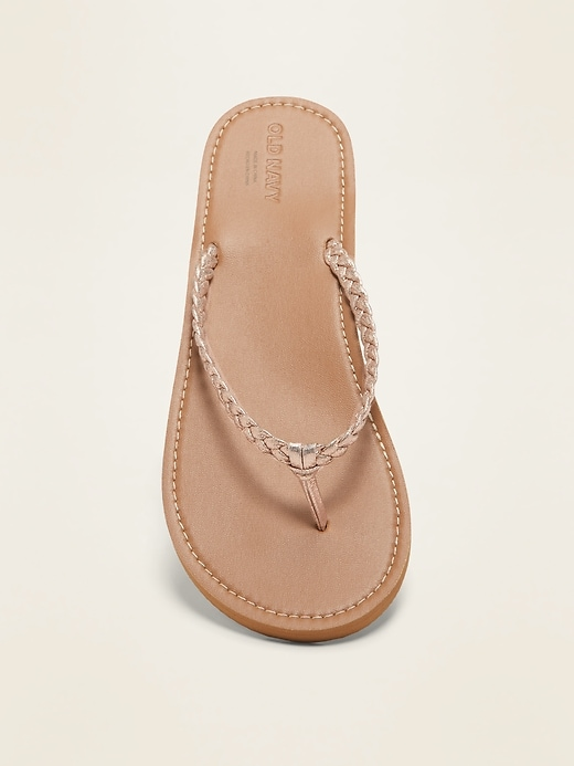 Braided Capri Sandals for Girls