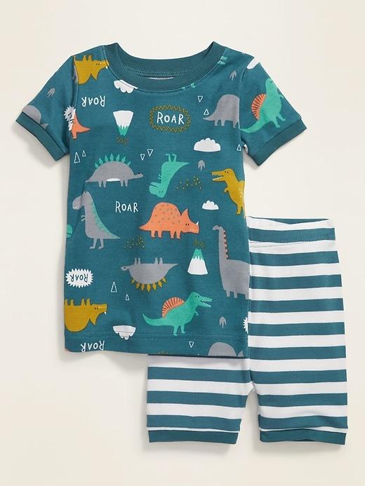 Dinosaur Pajama Set for Toddler & Baby