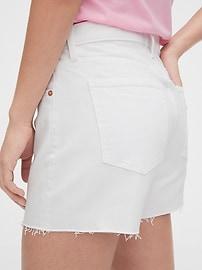 """5"""" Mid Rise Denim Shorts"""