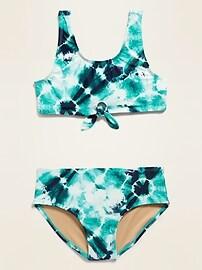 Tie-Front Bikini for Girls