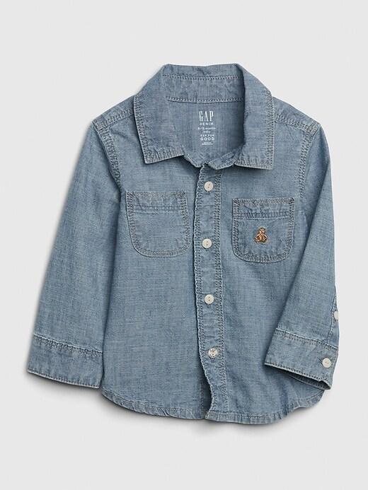 Baby Brannan Bear Chambray Shirt