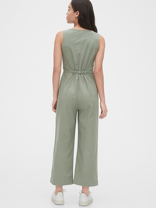 TENCEL&#153 Button-Front Jumpsuit