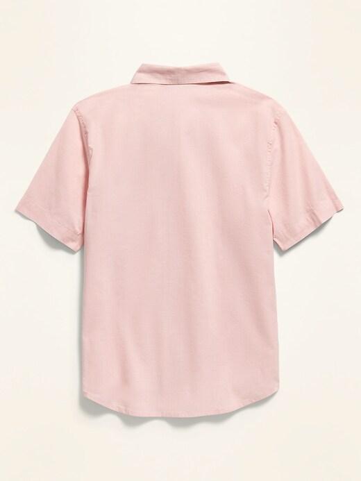 Built-In Flex Short-Sleeve Shirt for Boys