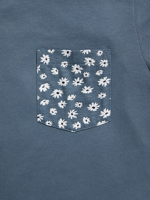 Soft-Washed Graphic Chest-Pocket Tee for Men