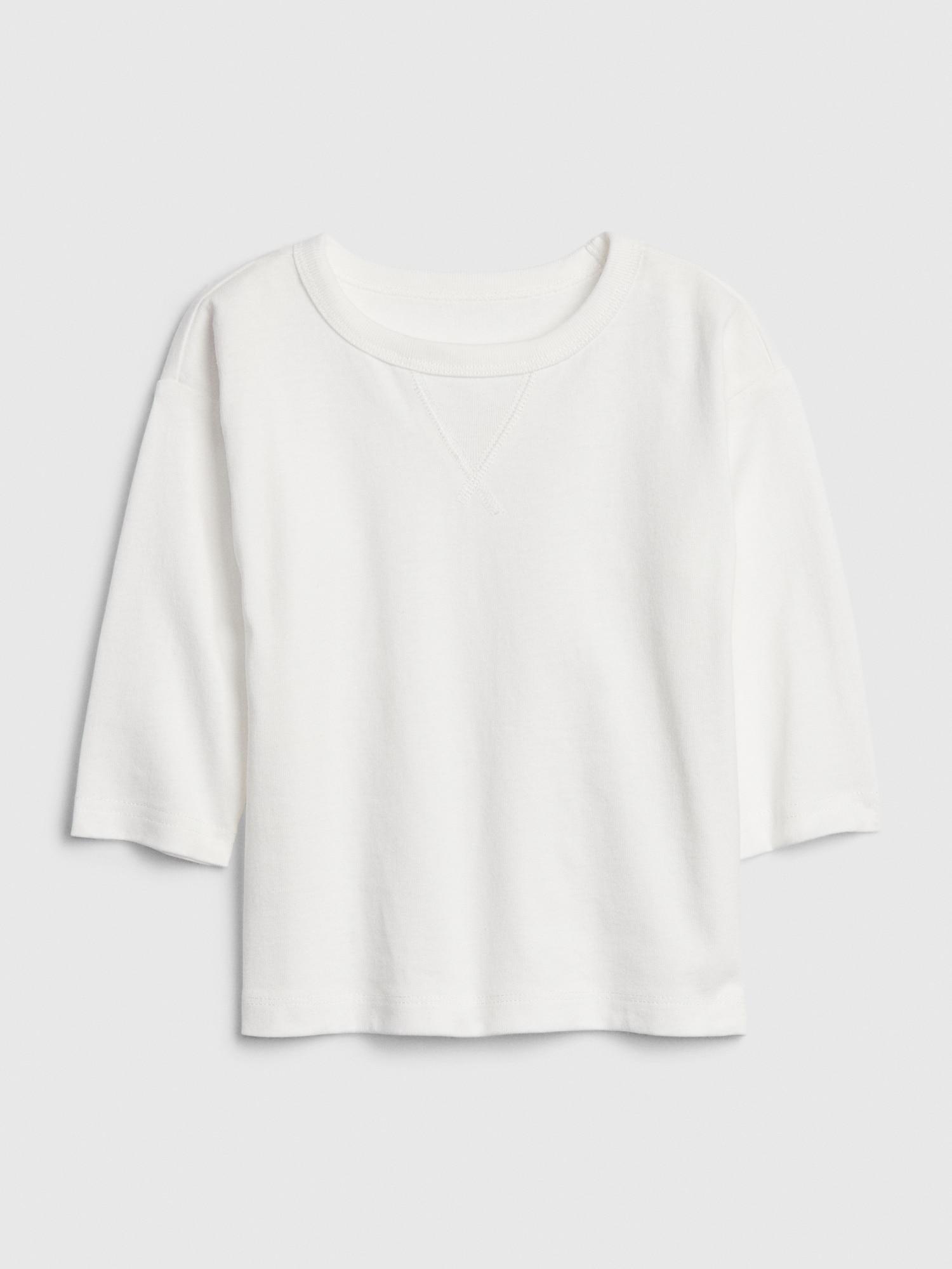 七分袖tシャツ (幼児)