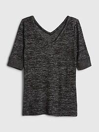 Softspun Elbow-Sleeve T-Shirt