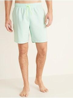 Oldnavy Solid-Color Swim Trunks for Men -- 8-inch inseam