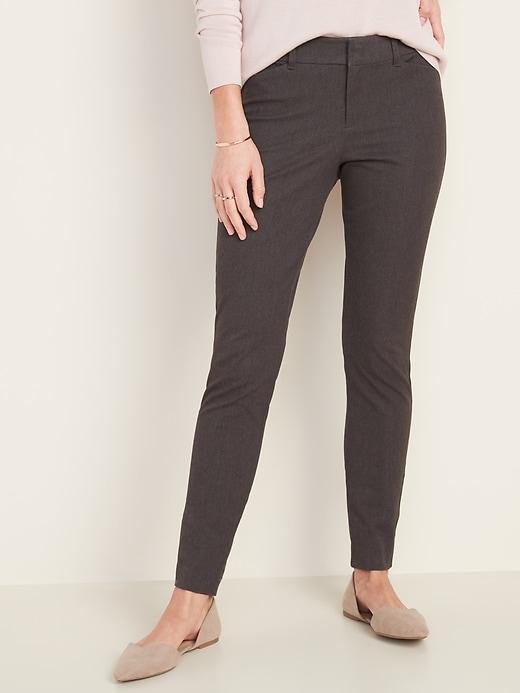 All-New Mid-Rise Pixie Full-Length Pants for Women