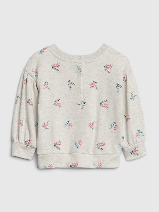 Baby Volume-Sleeve Sweatshirt