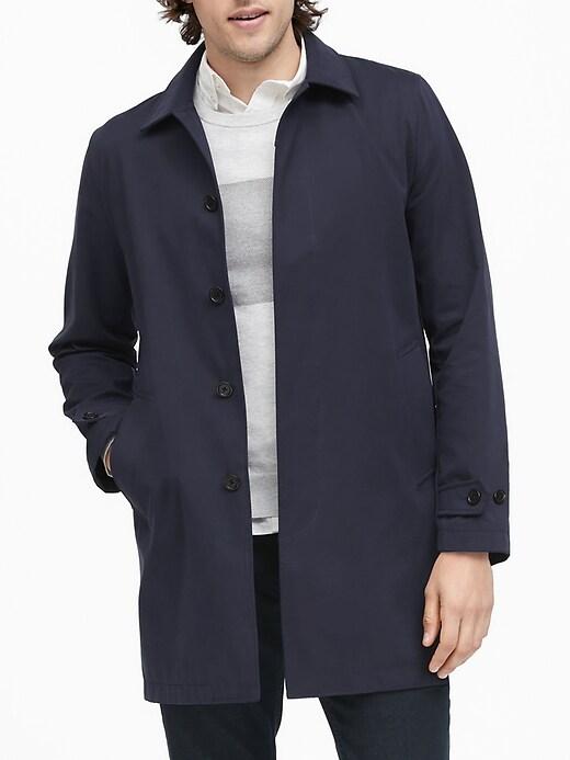 Water-Resistant Mac Jacket