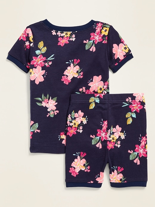 Floral Pajama Set for Toddler & Baby