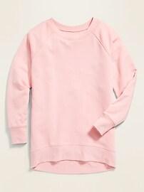 Boyfriend French Terry Tunic Sweatshirt for Women