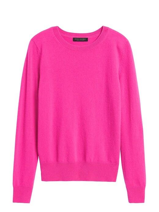 Cashmere Crew-Neck Sweater