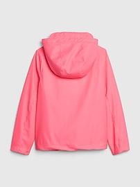 Kids Jersey-Lined Raincoat