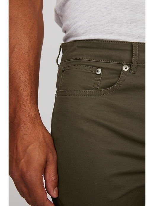 Twill 5 Pocket Pant in Athletic Slim Fit
