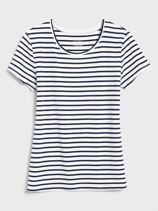 Timeless Stripe Crew-Neck T-Shirt