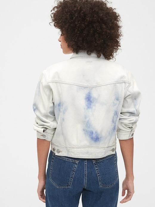 Cropped Icon Denim Jacket