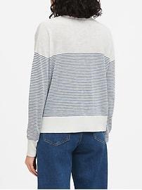 Petite Relaxed Linen-Blend Sweater