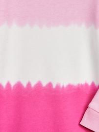 Toddler Tie-Dye Sweatshirt Dress