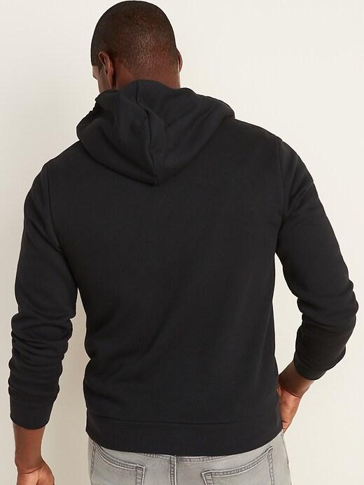 Logo-Graphic Zip Hoodie for Men