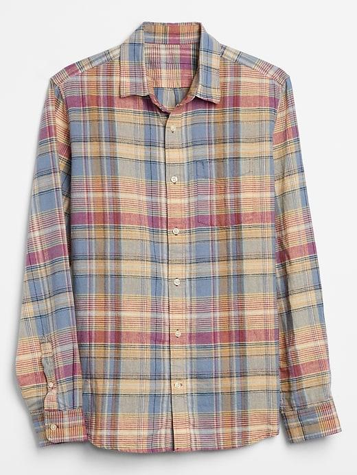 Long Sleeve Linen Shirt