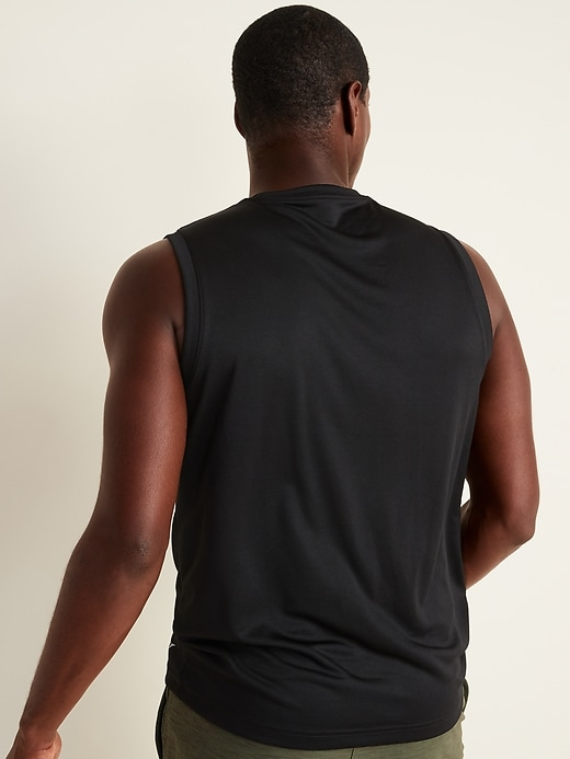 Go-Dry Cool Odor-Control Core Muscle Tank Top for Men