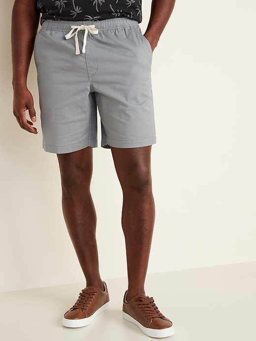 Twill Jogger Shorts for Men - 9-inch inseam