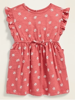 NEW!! Old Navy Baby Girl 3-6 months Cheetah Print Dress//One Piece
