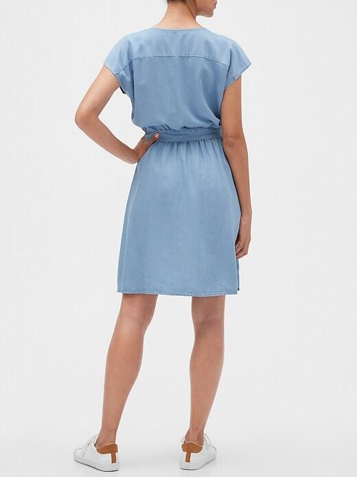 Wrap Dress in TENCEL&#153