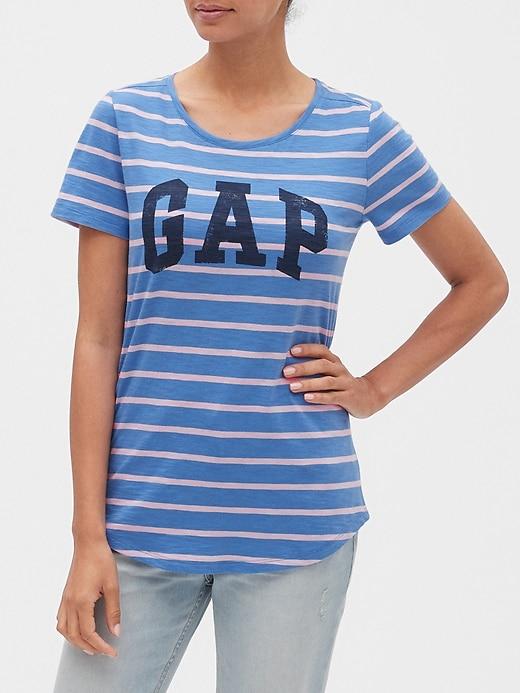 Stripe Logo T-Shirt