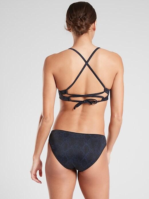 A&#45C Snake Triangle Bikini Top
