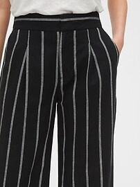High Rise Wide Leg Pants in Linen