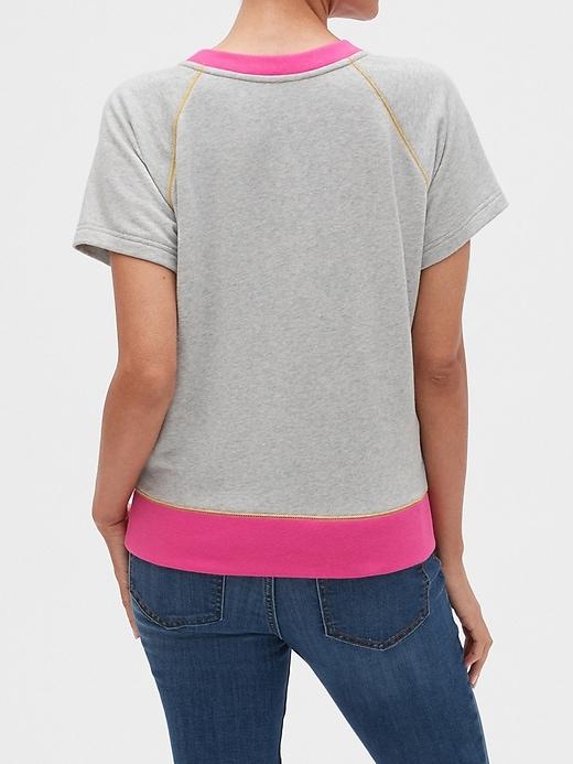 Gap Logo Short Sleeve Pullover