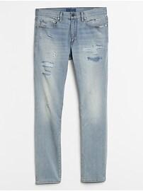 Destructed Slim Jeans