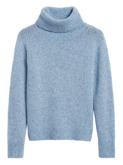 Petite Merino-Blend Turtleneck Sweater