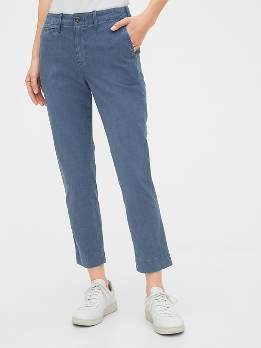 High Rise Straight Pants