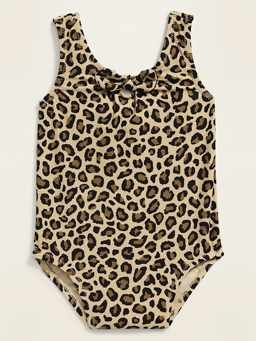 Printed Tie-Front Swimsuit for Baby
