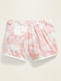 Jersey Dolphin-Hem Shorts for Girls